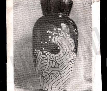chinese art deco vase 1925 liu jipiao 刘既漂
