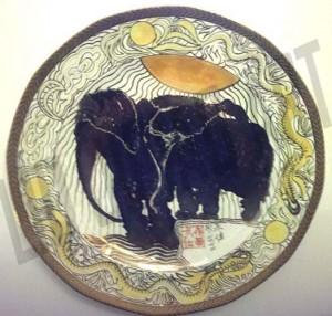 2 Elephants – 1972