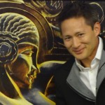 Matthew Wong at Paris Art Deco Exhibition with Liu Jipiao