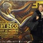 Jenn and Gayook in Paris Metro